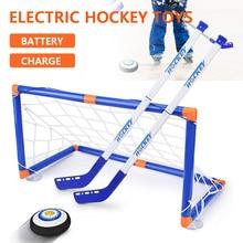 Hover Hockey,Knee Hockey Set ,Hockey & Soccer Gifs For Boys - Sport Toys Power Training Ball Playing Hockey Game,Air Soccer Hove