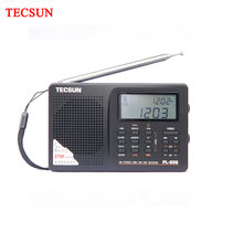 TECSUN PL-606 PLL Digital Portable Lansia/Studendt Radio FM Stereo / LW / SW / MW DSP Receiver Ringan isi Ulang(China)