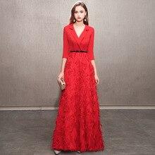 2020 מכירה לוהטת חצי שושבינה שמלת קטן מסיבת חצאית כדי להראות דק צ יו דונג תלבושת נשי high end חדש אווירה אפילו בגדים