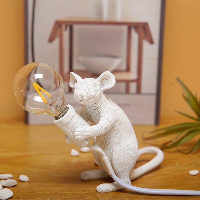 da noite lâmpada decorativa luzes de mesa crianças quarto lâmpada e12
