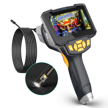 Type c  Dual Lens USB Endoscope Camera Endoscopy Camera Rigid Endoscopic Camera Engine Drain Pipe  Inspection Camera with Screen
