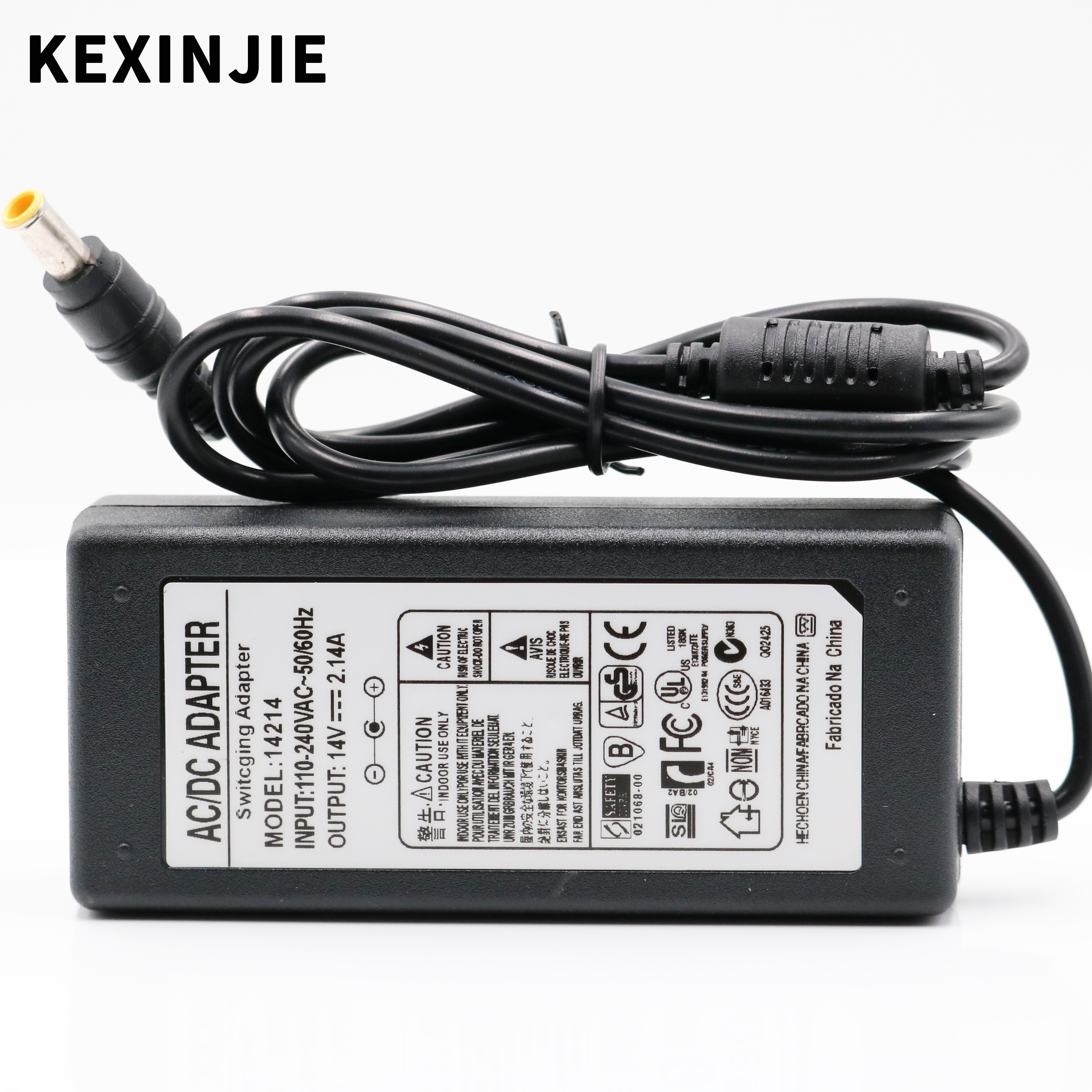 14V 2.14A AC DC Adapter Charger For Samsung Monitor S19B150N S19B360 14V2.14A S22B360HW ADM3014 Power Supply