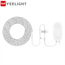 Yeelight RGB LED 2M Smart Light Strip Smart Home for Mi Home APP WiFi Works with Alexa Google Home Assistant 16 Million Colorful original xiaomi yeelight rgb 2m intelligent light band 16 millions 60 led smart home phone app wifi diy colorful light band