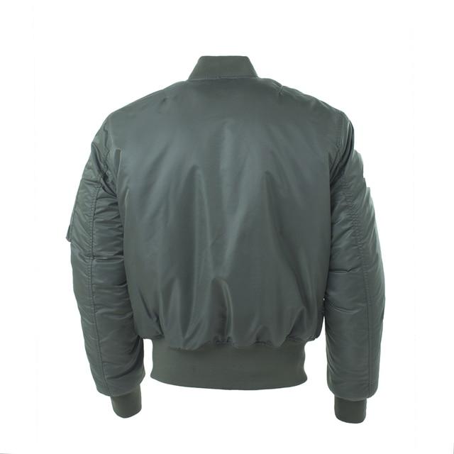 Plus Size US Air Force Pilot Ma1 Bomber Flight Jacket Men hip hop padded Letterman Winter Waterproof Nylon puffer red women coat 3