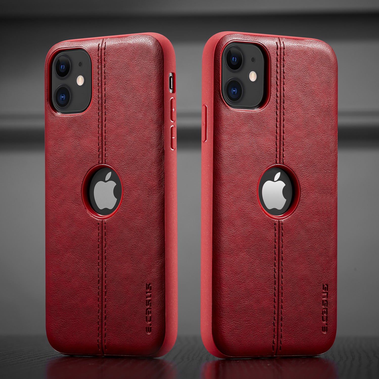 H292eb492cf124343827122f0ba590426G For iPhone 11 11 Pro 11 Pro Max Case New SLIM Luxury Leather Back Case Cover For iPhone 11 XR XS MAX 8 7 6 Plus Shockproof Case