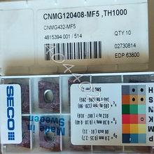SECO CNMG432-MF5 TH1000 CNMG120408-MF5 TH1000 CARBONETO INSERÇÕES 10pcs