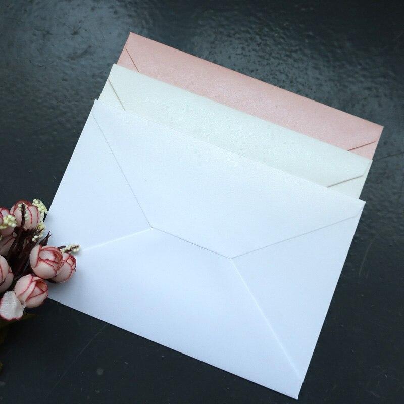 50 шт., жемчужные конверты, приглашения, Подарочный конверт