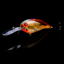 YUZI 1PC big Crankbait fishing Wobblers Tackle 14g 10cm pesca Swim Crank Bait Bass Fishing Lure pike perch