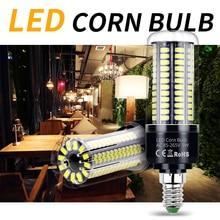 E27 LED Bulb 220V LED Lamp E14 Candle Bulb 3.5W 5W 7W 9W 12W 15W 20W B22 Lampada Corn LED Light No Flicker 5736 SMD Indoor Light