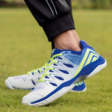2020 Unisex Anti-Slippery Volleyball Shoes Men Women Athletic Breathable Sneaker Fashion Badminton Students Training Sport Shoes