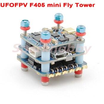 UFOFPV F405 mini wieża muchowa F4 kontroler lotu wieża OSD BLHELI-S Dshot600 4w1 ESC 35A 2-4S FPV wieża lotnicza 40CH 400mw VTX