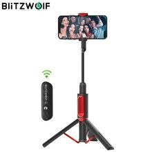 BlitzWolf BW BS10 alle in einem tragbaren Stativ Selfie Stick Telefon Halter Bluetooth versenkbare Stativ Selfie Stick Monopod für iPhone für Xiaomi für Huawei