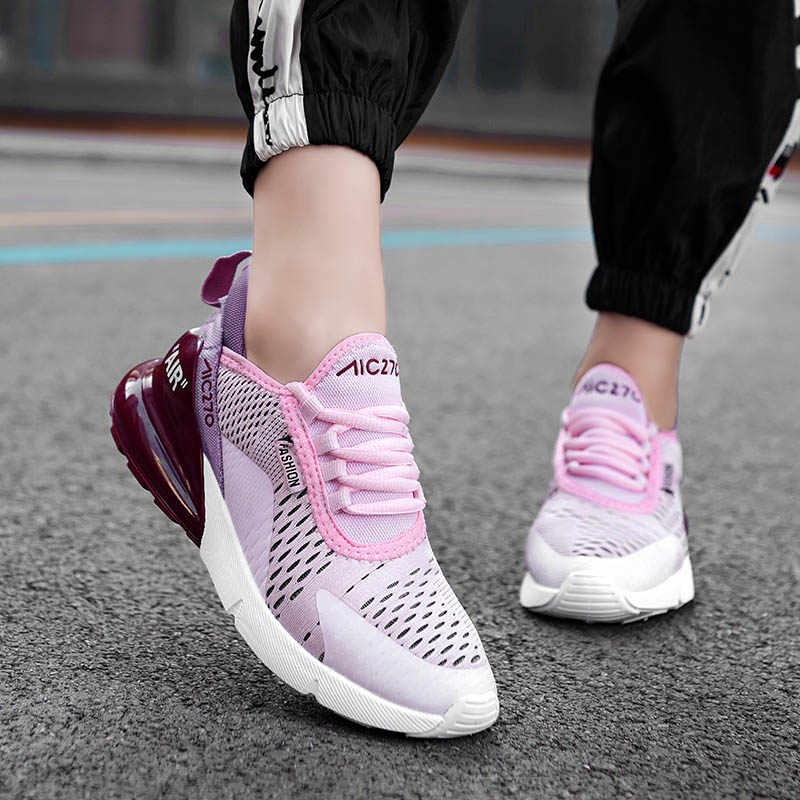 แฟชั่นผู้หญิงรองเท้าผ้าใบ 2019 รองเท้าสบายๆสุภาพสตรี Trainers สีขาวแพลตฟอร์มรองเท้าผ้าใบผู้หญิงตะกร้า Femme Dames สีดำ Deportivas Mujer