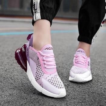 Fashion Women Sneakers 2019 Casual Shoes Ladies Trainers White Platform Sneaker Woman Baskets Femme Dames Black Deportivas Mujer