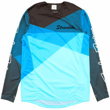 2019 Snel Droog Yetiing Motorfiets Mountainbike Team Downhill Jersey Mtb Offroad Dh Mx Fiets Locomotief Shirt Cross Country(China)