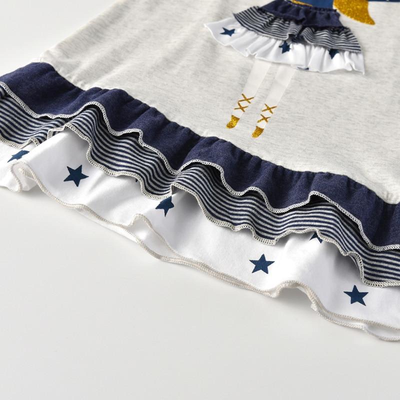 H2930e31bc8844f96965d76c11823d835q VIKITA Girls Cotton Dress Long Sleeve Children Patchwork Vestidos Kid Dresses for Girls Clothes Toddlers Cartoon Princess Dress