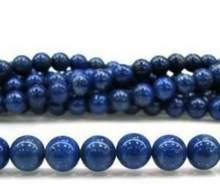 Pierres précieuses rondes Lapis Lazuli bleu égyptien, 10mm, perles en vrac 15
