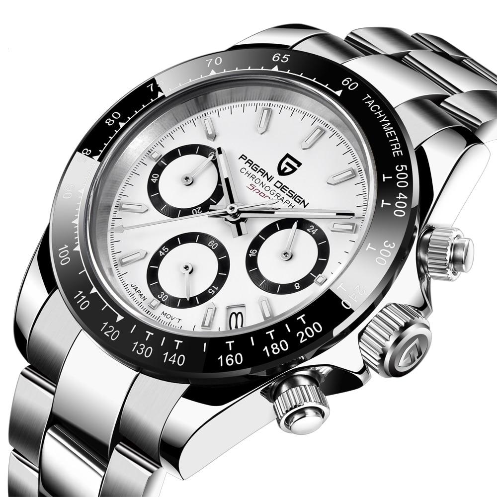 PAGANI DESIGN 2020 New Men's Watches Quartz Business watch Mens Watches Top Brand Luxury Watch Men Daytona Chronograph Relogio Masculino free drop shipping (27)