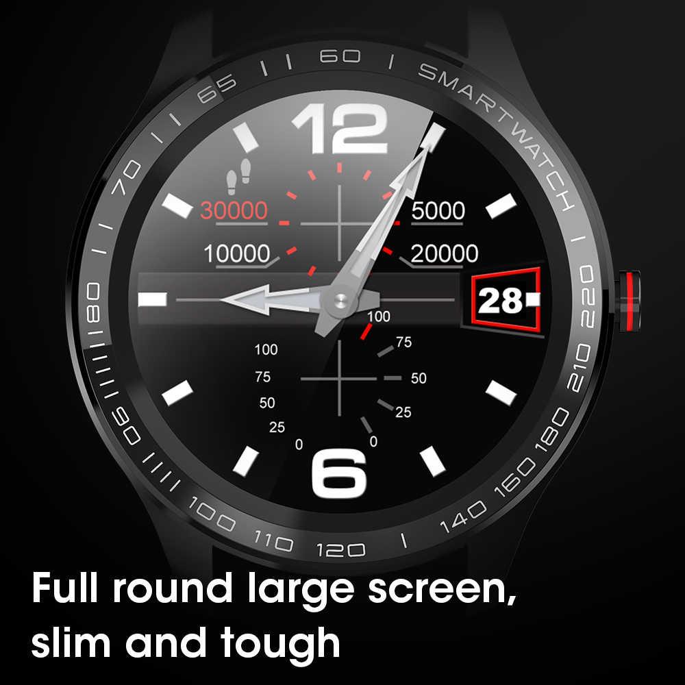 Reloj inteligente LEMFO L9 ECG para hombre, reloj