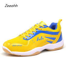 New Badminton Shoes Outdoor Sports Breathable Sneakers Men Women High Quality Tennis shoes Light comfortable Big Size Trainers(China)