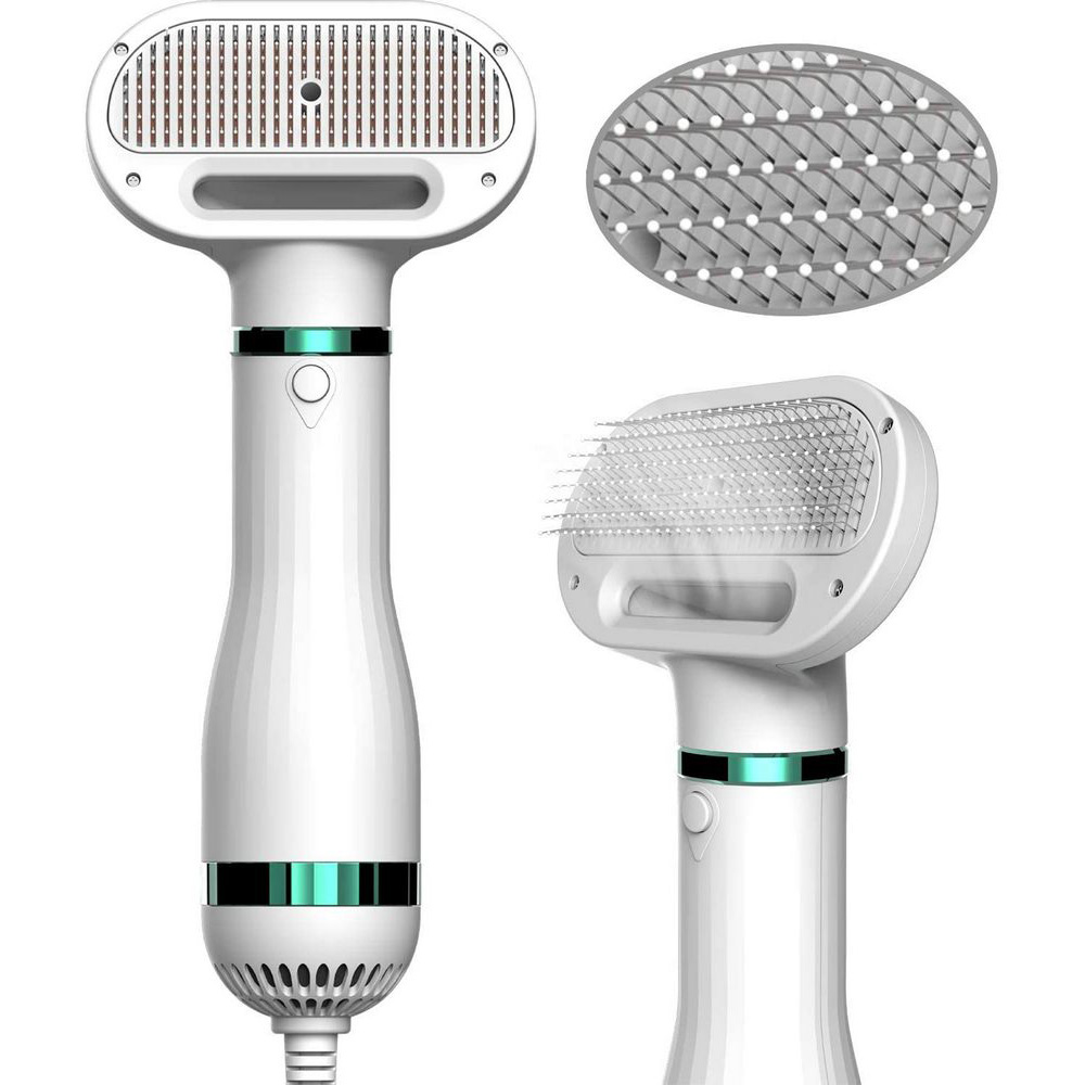 Comb-Brush Hair-Dryer Pet Grooming Portable 2-In-1 And Dog Cat-Hair Combing Low-Noise