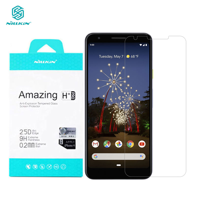 Tempered Glass for Google Pixel 4 3 XL 3XL 3A XL Nillkin Amazing H+Pro 0.2MM Screen Protector for Google Pixel 3 Glass image
