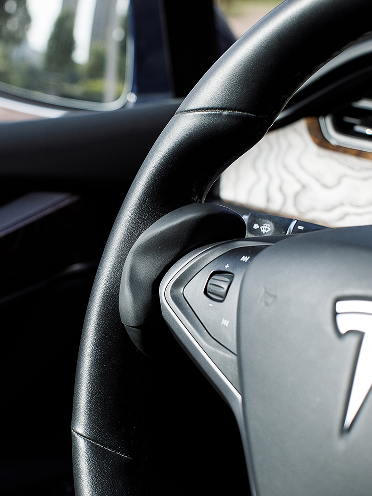 Driving Ring Model Steering-Wheel-Booster Autopilot FSD TESLA S-X-Counterweight 3-Y Assisted