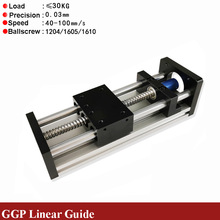 Linear-Guide Ball-Screw-Actuator-Module Slide-Table 3d-Printer Rail-Motion XYZ Stage
