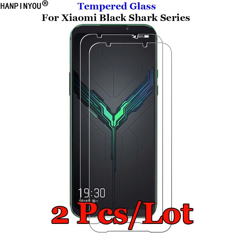 2 Pcs/Lot For Xiaomi Black Shark 2 3 Pro Helo Tempered Glass 9H 2.5D Premium Screen Protector Film For Xiaomi Black Shark3(China)