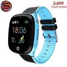 4G 안티 분실 아이 GPS 시계 추적기 보안 SOS 스마트 모니터링 위치 전화 IP67 방수 안전 어린이 GPS samrtWatch