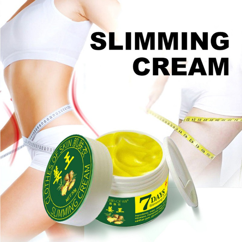 Natural Ginger Slimming Cream Fast Burning Fat Lost Weight Body Care Firming Effective Lifting Firm Health
