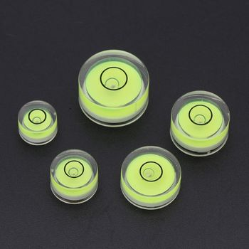 5pcs Variety Models Available Round Bubble Level Mini Spirit Level Bubble Bullseye Level Measurement Instrument aneng 32x7mm bulls eye bubble degree marked surface spirit level for camera circular
