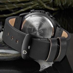 Image 5 - K698 kademan スポーツメンズ腕時計ステップカウンター革トップ高級ブランドの led メンズミリタリー腕時計レロジオデジタル防水