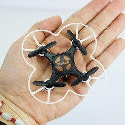 Mały quadcopter podczerwień z żyroskopem kieszonkowy bezzałogowy statek latający dzieci elektryczny pilot odporny na upadek samolot na