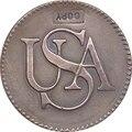 Оптовая продажа 1785 US бар Coppers копия монет 100% Копер производство