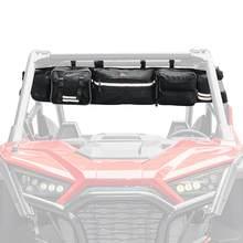 KEMIMOTO-UTV Cage roulante, sac de rangement pour Polaris RZR 900 800 1000 XP Ranger 500 570 pour Can am Maverick pour Arctic Cat