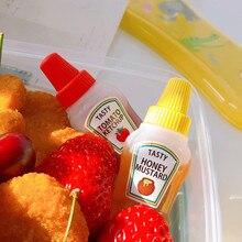 Sauce-Container Food-Storage-Box Mini Ketchup-Bottle Bento-Box 25ML Portable 2pcs/3pcs