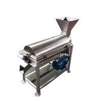 Descuento 500kg cada hora triturador de frutas eléctrico multifunción  extractor de pasta de tomate  máquina para hacer mermelada de cereza azul  envío gratis