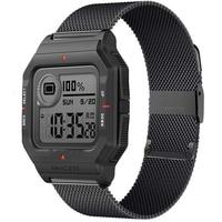 Cinturini in acciaio inossidabile per Xiaomi Huami Amazfit Neo/Bip S U Pro/GTS 2 Mini Smart Watch sostituisci cinturino in metallo 20MM per hay485 LS02