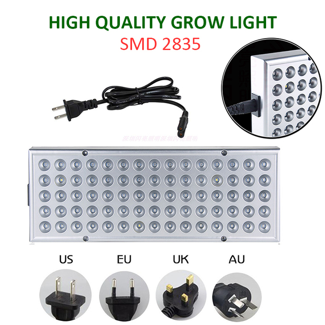 2pcs LED Grow Lights Full Spectrum Phyto Lamp For Plants 5
