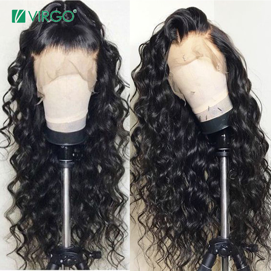 13x4 Loose Wave Lace Front Human Hair Wigs For Black Women 150% Density Wig Pre Plucked With Baby Hair Brazilian Lace Wig Remy