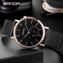 Mens Sports Watches Top Brand Luxury Ultra Thin Casual Waterproof Sport Watch Quartz Full Steel Men Watch Relogio Masculino 2019 top luxury brand julius men watches ultra thin full genuine leather clock waterproof casual sport watch men quartz watch relogio