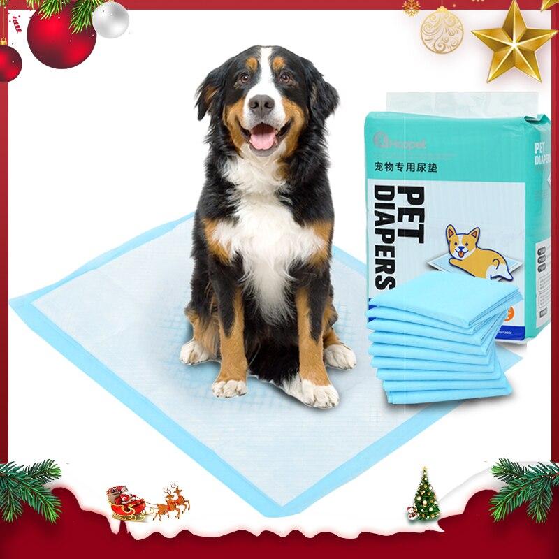 Вкладыши для дрессировки домашних животных HOOPET, супер впитывающие подгузники для собак, собак и щенков, герметичные мочевые прокладки с быс...