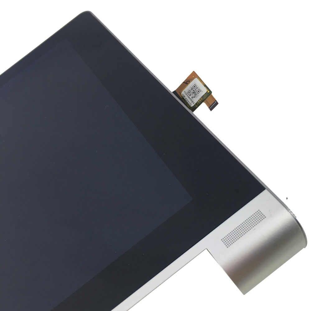 KUERT Lenovo Yoga 10 için B8000 60046 60047 LCD ekran ekran Digitizer dokunmatik Panel cam meclisi ile çerçeve değiştirme