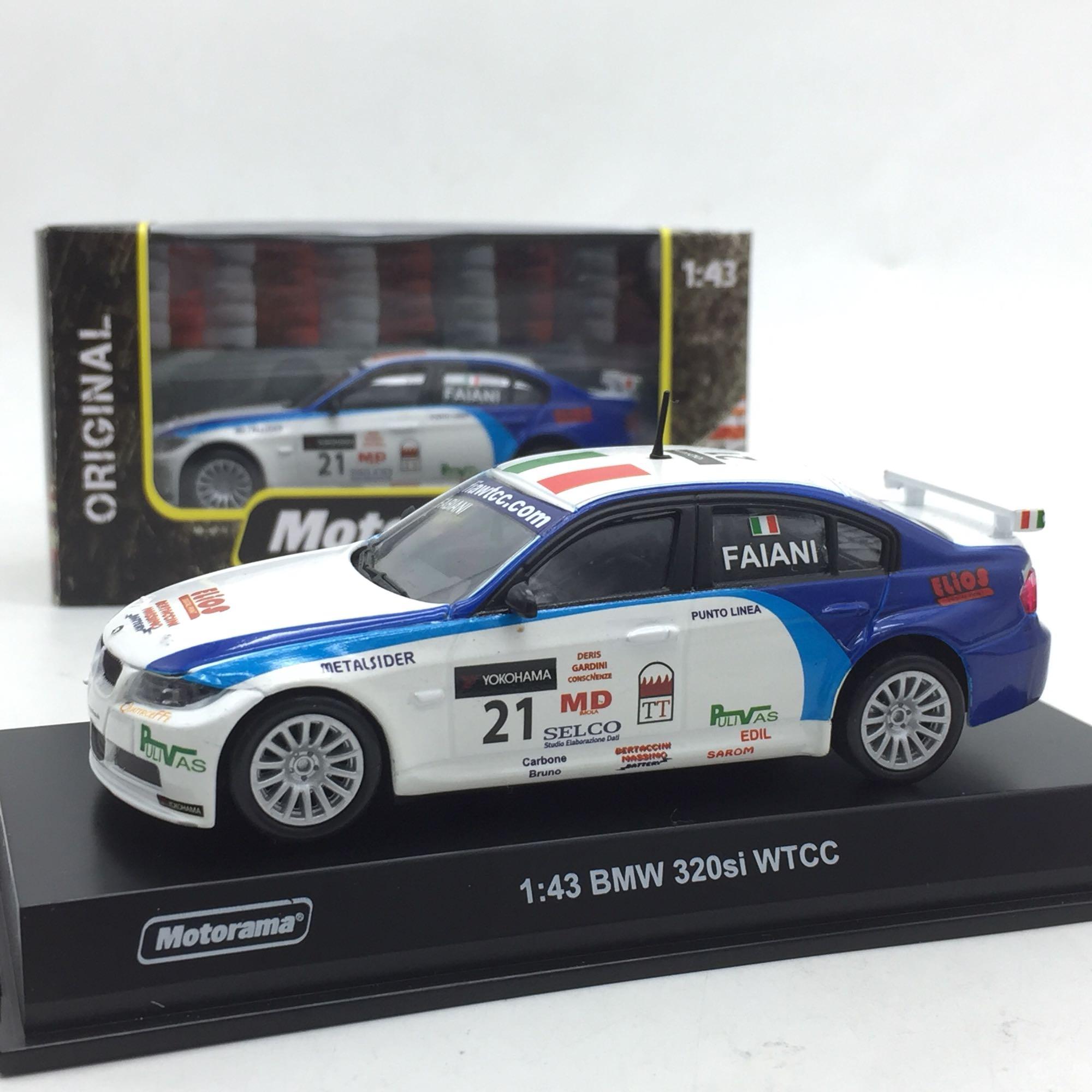WTCC Racing Car 1:43 BMW 320si Alloy Car Model Collection Toy