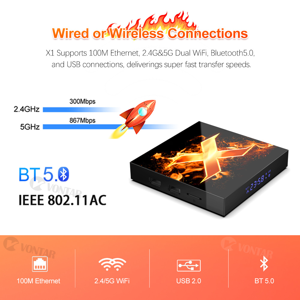 lowest price Amlogic S905X3 TV BOX Android 9 0 X3 Plus 4GB RAM 64GB ROM X3 PRO Set Top Box 2 4G 5G WiFi 1000M 4K X3 Cube Media Player