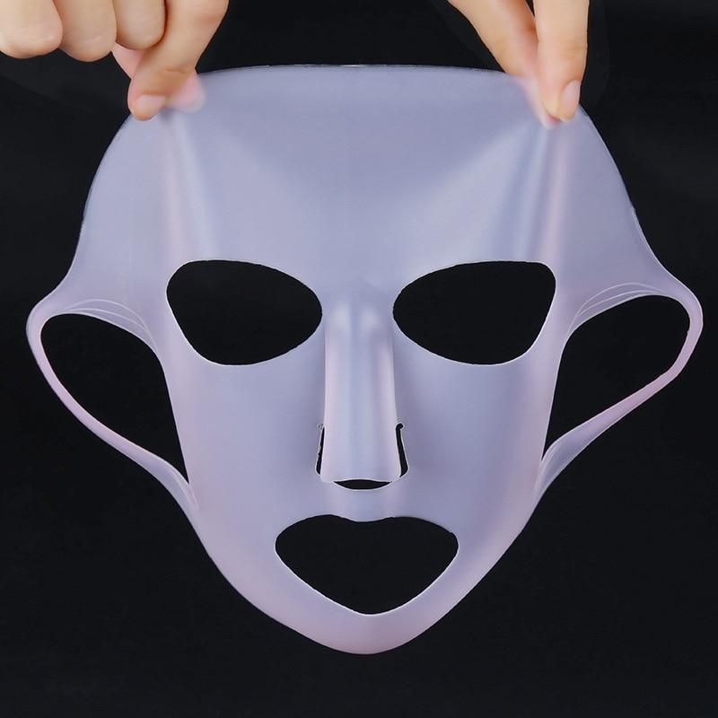 1 шт. силиконовая увлажняющая маска для лица многоразовая увлажняющая маска для лица средство для ухода за лицом Блокировка воды случайный цвет| |   | АлиЭкспресс