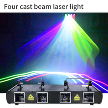 Disco Projector Dj Laser Dance Dmx-Control Holiday-Decoration Stage Party Colorful RGB