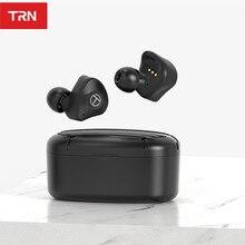 TRN T300 2BA + 1DD Bluetooth 5.2 vero auricolare Bluetooth Wireless APTX HIFI auricolari sport auricolare In Ear TRN VX E12 MTW100 T200