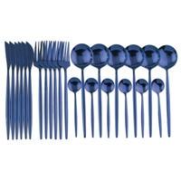 24Pcs Blue